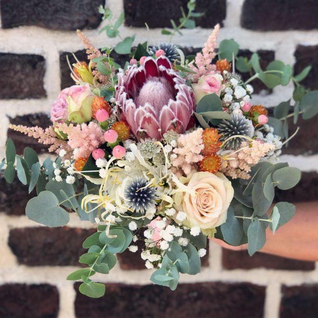 Brautstrauss von tausendschoen, florale Dekoliebe, Datteln